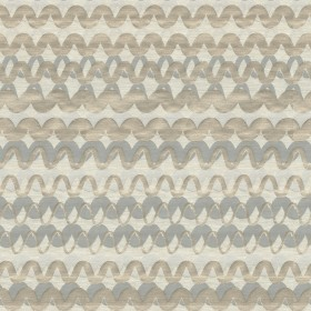 Ripple Effect Silver Blue Kravet Fabric