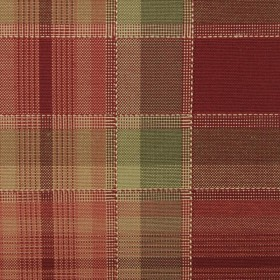 32423 91 RED/GREEN DURALEE Fabric