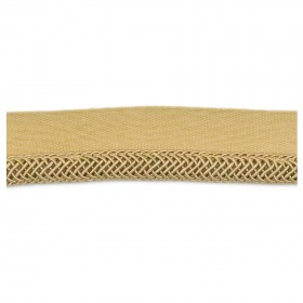 Alluring Oolong Shimmer Trim Fabric