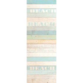 Madero Aqua Beach Wood Panels Wallpaper