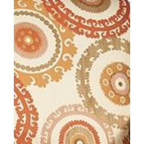 Taraz Tangerine Swavelle Mill Creek Fabric