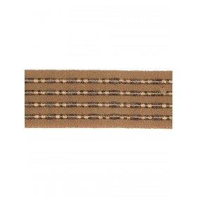 Basha Bronze Trim Fabric