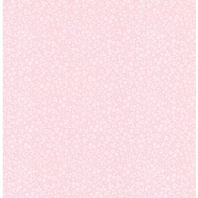 Gretel Pink Floral Meadow Wallpaper