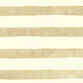 Rajah Gold Stripes Wallpaper