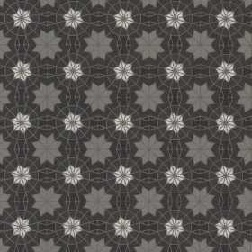 Marqueterie Black Mosaic Geometric Wallpaper