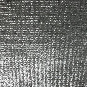 Ziba Silver Metallic Woven Texture Wallpaper