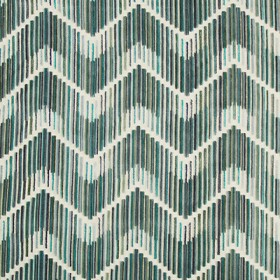 Highs And Lows Peacock Kravet Fabric