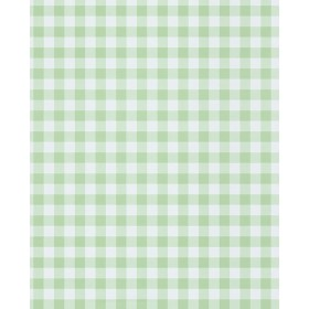 Kay Mint Vichy Check Wallpaper