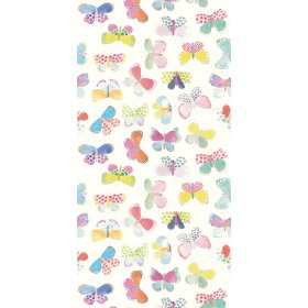 White Butterflies In My Stomach Wall Mural