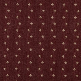 3632 Burgundy Posey Fabric by Charlotte Fabrics
