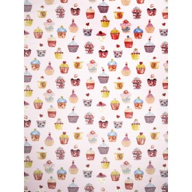 Magnificent Icing Strawberry Fabric