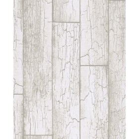 Resource Esmee Off-White Wood Wallpaper