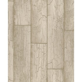 Resource Esmee Taupe Wood Wallpaper