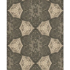 376057 Seychelles Chocolate Medallion Wallpaper