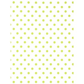 Sixpence Lime Wallpaper