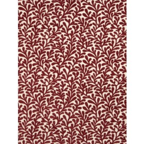 Glowing Coral Springs Lacquer Fabric