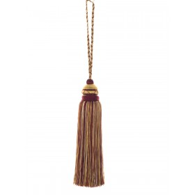 Magnificent Perfume Sangria Decorative Tassel