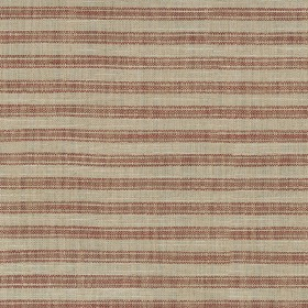 Ashton Ticking 409132 Farmhouse Red Performance+ Fabric