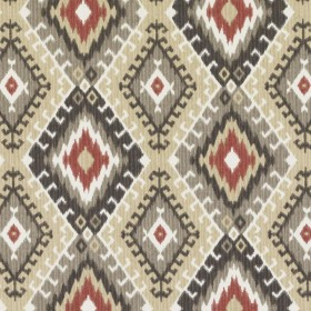 42459 98 RED/BLACK DURALEE Fabric
