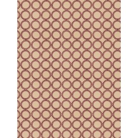 Vivid Circle Suzani Mulberry Fabric