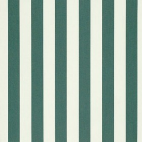 "46"" BEAUFORT FOREST GREEN/NATURAL 6 BAR Fabric by Sunbrella Fabrics"