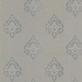 FD68088 Donald Grey Transitional Damask Print Wallpaper