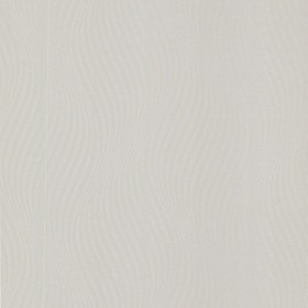 Zenia Silver Small Ogee Wave Wallpaper