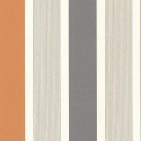 Horizon Orange Stripe Wallpaper
