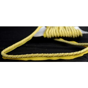 "1/4"" BC10008 Yellow Lip Cord Trim"
