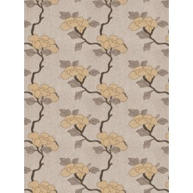 Fantastic Asian Floral Whiskey Fabric