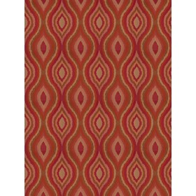 Magnificent Conger Cayenne Fabric