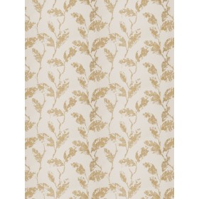 Special Trahira Leaf Parchment Fabric