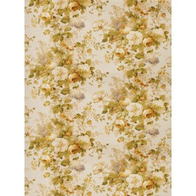 Lolo Floral Gold Fabric
