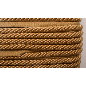 "BC10008 1/4"" Tan Brown Lip Cord"