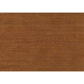 Moriko Brown Grasscloth Wallpaper
