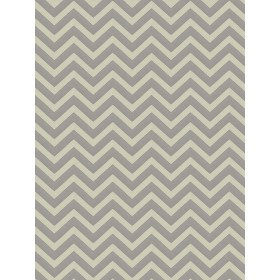 Gorgeous Durum Chevron Silver Fabric