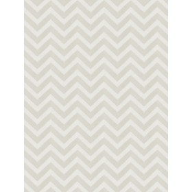 Gorgeous Durum Chevron White Fabric