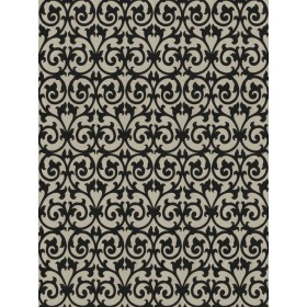 Fabulous Ezekiel Scroll Onyx Fabric
