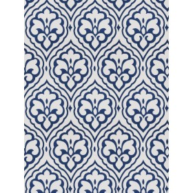 Striking Aspire Damask Cobalt Fabric