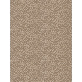 Gorgeous Plato'S Petals Taupe Silver Fabric