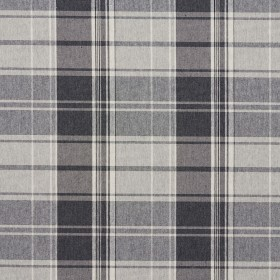 5800 Sterling Plaid Fabric by Charlotte Fabrics