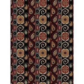 Exceptional French Quarter Ruby Fabric