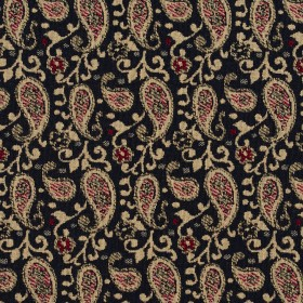 5841 Port Paisley Fabric by Charlotte Fabrics