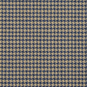 5855 Patriot Houndstooth Fabric by Charlotte Fabrics
