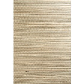 Wei Taupe Grasscloth Wallpaper