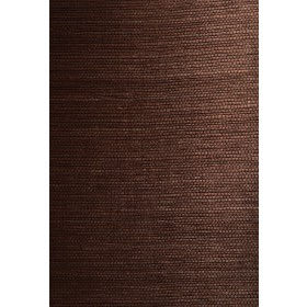 Xiu Dark Brown Grasscloth Wallpaper