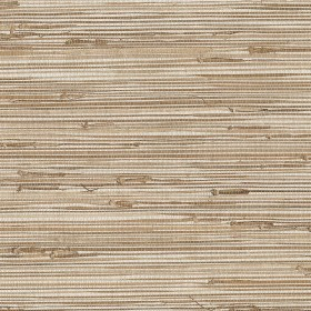 Ting Taupe Grasscloth Wallpaper