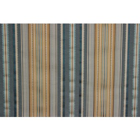 Kent Stripe Bluebell P Kaufmann Fabric