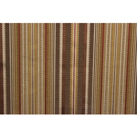 Kent Stripe Red Curran P Kaufmann Fabric
