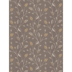 Gorgeous Wing Leaves Goldenrod Fabric